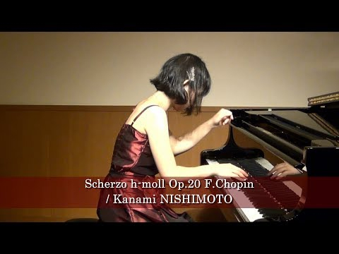 西本佳奈美Etude a-moll Op.25-11 F.Chopin / Kanami NISHIMOTO2017年